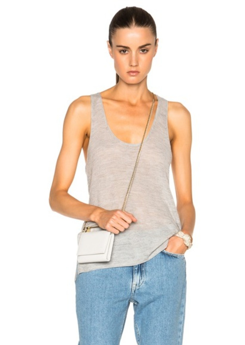 Helmut Lang Racer Back Top