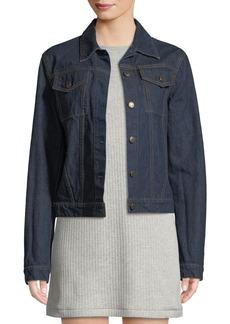 Helmut Lang Re-Edition Archive Stripe Button-Front Denim Jacket