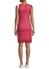 Helmut Lang Re-Edition Archive Summer Camp Two-Layer Asymmetric Tank Dress