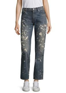 Helmut Lang Re-Edition Capsule Splatter Paint Jeans