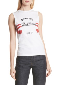 Helmut Lang Re-Edition Diamond Head Graphic Muscle Tank