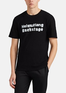"Helmut Lang RE-EDITION Men's ""Backstage"" Waffle-Knit Cotton T-Shirt"