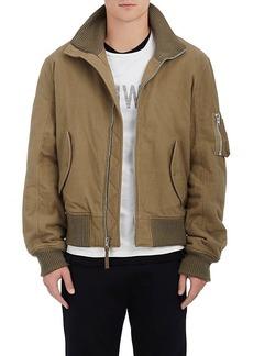 b60c77c23542 Helmut Lang RE-EDITION Men s Cotton Flannel Bomber Jacket