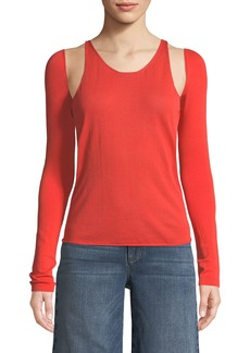 Helmut Lang Re-Edition Tank Top with Detachable Sleeves