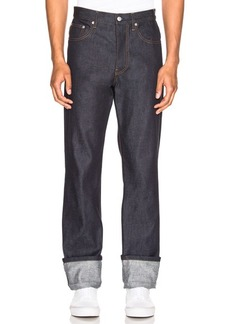 Helmut Lang Re-Edition Turn Up Jeans