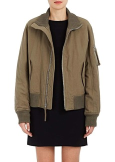 Helmut Lang RE-EDITION Women's Brushed Cotton Bomber Jacket