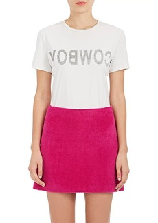 """Helmut Lang RE-EDITION Women's """"Cowboy"""" Cotton T-Shirt"""