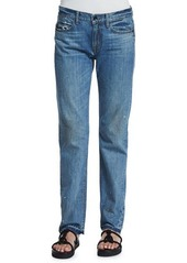 Helmut Lang Relaxed Raw-Edge Jeans