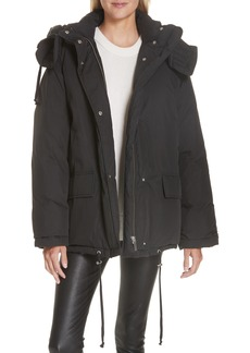 Helmut Lang Removable Hood Puffer Jacket