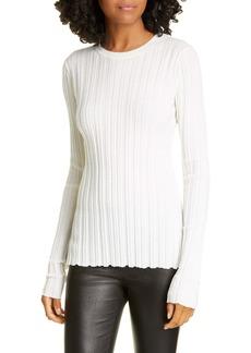 Helmut Lang Rib Merino Wool Sweater