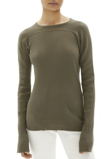 Helmut Lang Ribbed-Knit Crewneck Top