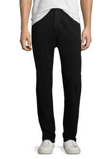 Helmut Lang Ribbed-Side Jogger Pants