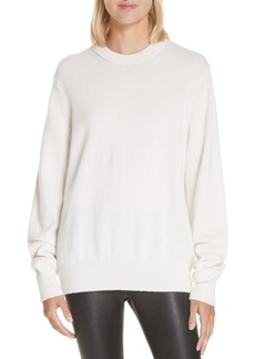 Helmut Lang Ring Shoulder Cashmere Sweater