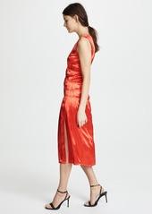 Helmut Lang Ruched Tank Dress