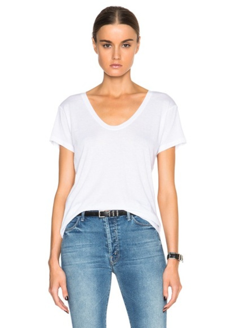 Helmut Lang Scoop Neck Tee