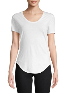 Helmut Lang Scoopneck Cotton Tee