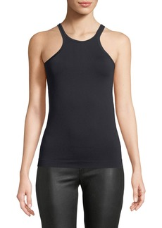 Helmut Lang Seamless Fitted Jersey Racer Tank
