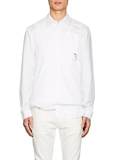 Helmut Lang Seen By Shayne Oliver Men's Cotton Poplin Shirt