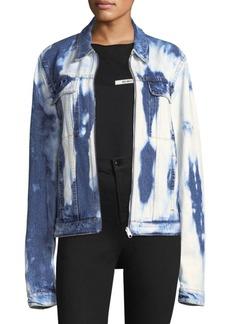 Helmut Lang Shayne Bleached Denim Jacket