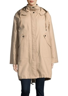 Helmut Lang Shearling-Lined Utility Parka