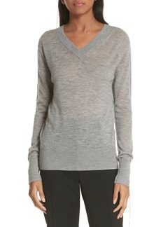 Helmut Lang Sheer Cashmere Sweater