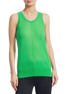 Helmut Lang Sheer V-Neck Tank