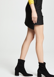 Helmut Lang Shifted Canvas Skirt