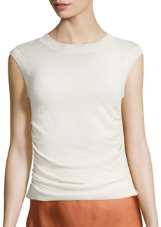 Helmut Lang Shirred Shell Top