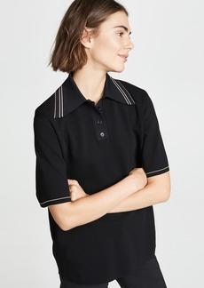 Helmut Lang Short Sleeve Polo Shirt
