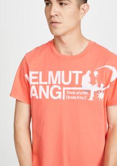Helmut Lang Short Sleeve Standard Logo T-Shirt