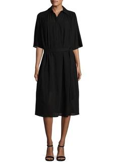 Helmut Lang Short Sleeves Knee-Length Dress