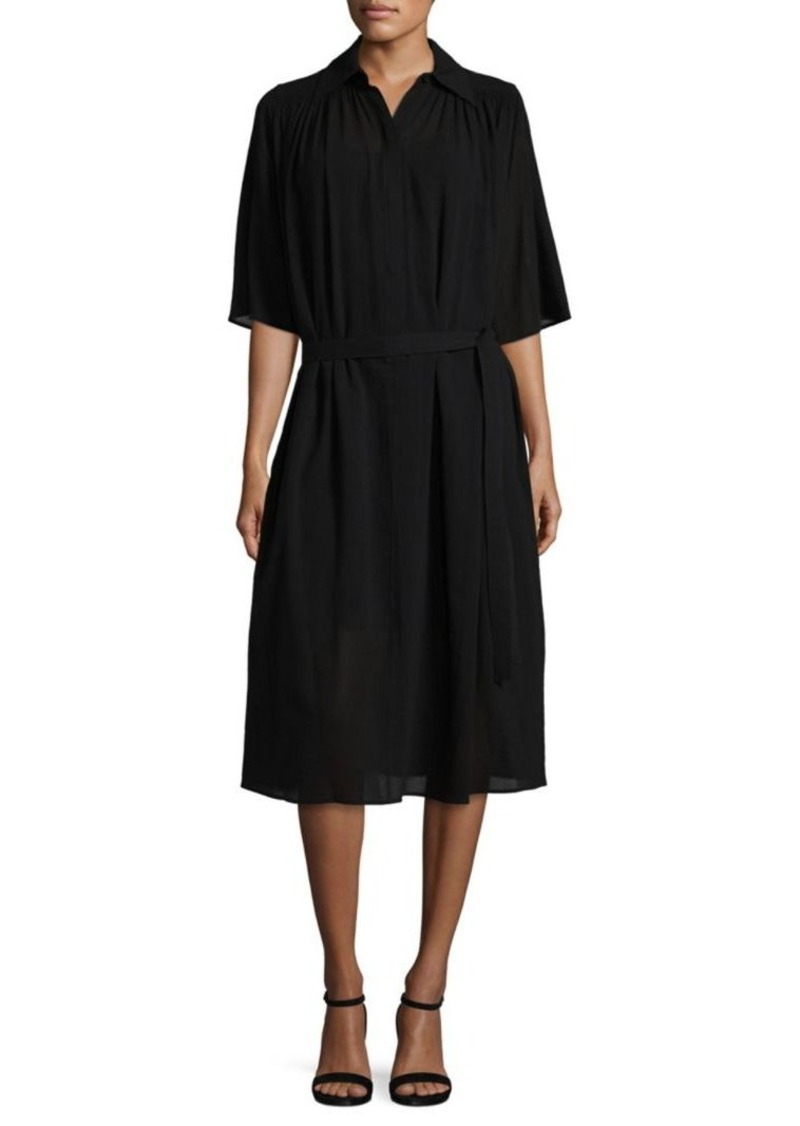 Helmut Lang Short Sleeves Knee-Length Dress