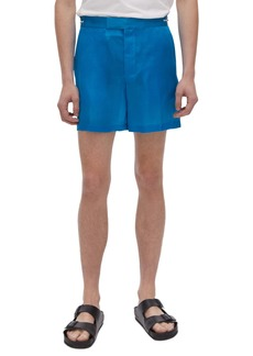 Helmut Lang Silk Shorts