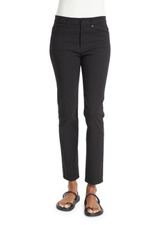Helmut Lang Skinny Mid-Rise Ankle Jeans