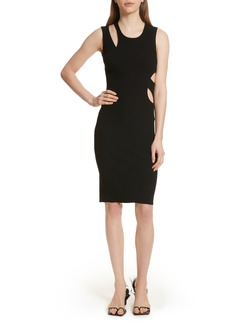 Helmut Lang Slash Layered Tank Dress