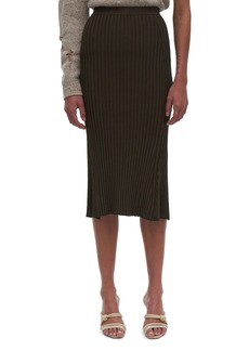 Helmut Lang Slash Rib Skirt