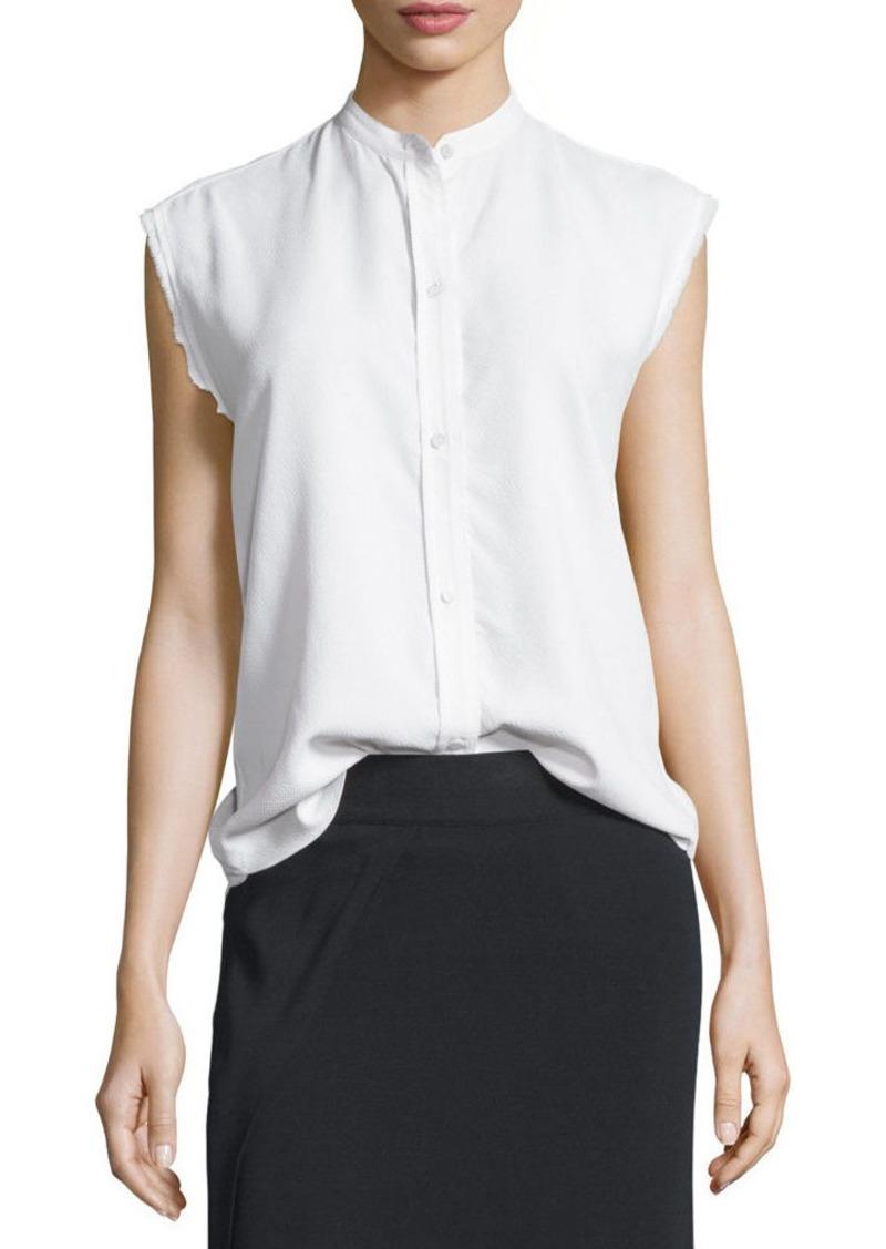 a25044a5 Helmut Lang Helmut Lang Sleeveless Back-Knot Poplin Shirt   Dress Shirts