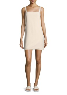 Helmut Lang Sleeveless Ponte Shift Dress