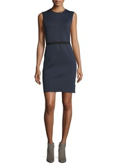 Helmut Lang Sleeveless Scuba Sheath Dress