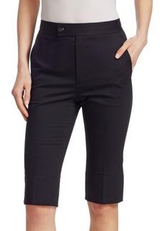Helmut Lang Slim Cotton Shorts
