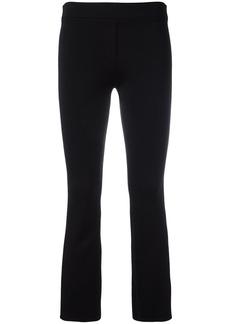 Helmut Lang slim-fit cropped trousers - Black