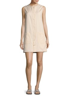 Helmut Lang Slip-On Mini Dress