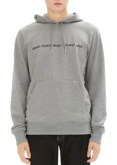 Helmut Lang Smart People Hooded Graphic Sweatshirt