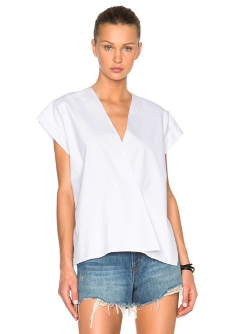 Helmut Lang Snap Detail Top