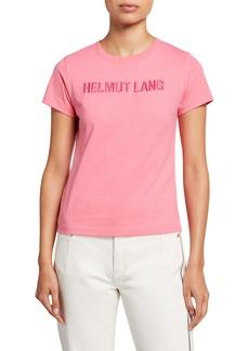 Helmut Lang Standard Baby Logo Tee