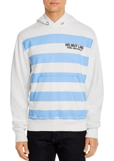 Helmut Lang Standard Bars Hooded Sweatshirt