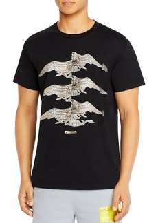 Helmut Lang Standard Eagle Cotton Graphic Tee