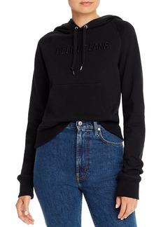 Helmut Lang Standard Slim Embroidered Hoodie