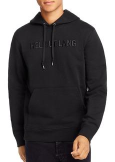 Helmut Lang Standard Tonal Logo-Embroidered Hooded Sweatshirt
