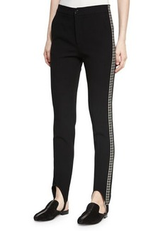 Helmut Lang Stirrup Side Insert Pants